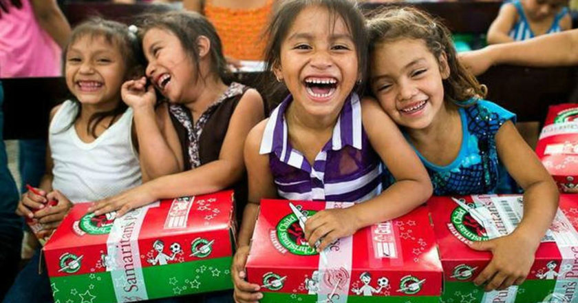 Operation Christmas Child - ZonaVertical